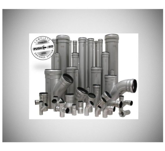 Stainless Steel Push-Fit Pipe System